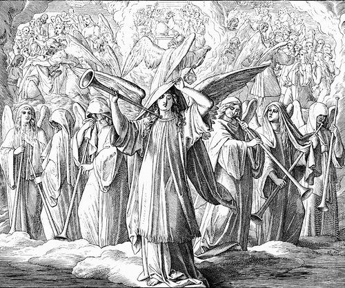 Ангелы с трубами апокалипсис