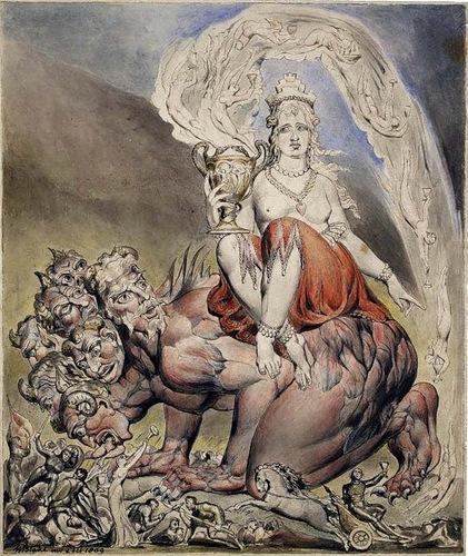 вавилонская блудница апокалипсис