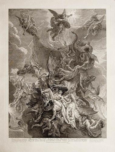 Битва архангела Михаила и зверя апокалипсис